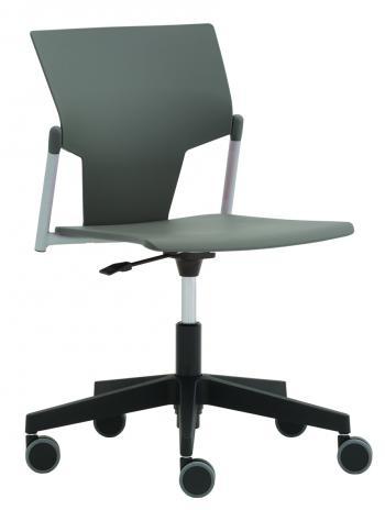 Plastová židle na kolečkách KVADRATO (KV 151) RIM KV 151