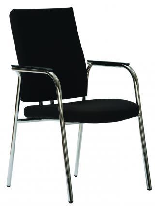 Čalouněná židle s područkami FLASH (FL 750) E