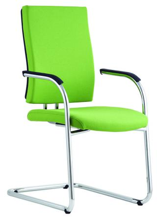 Čalouněná židle s područkami FLASH (FL 760) E