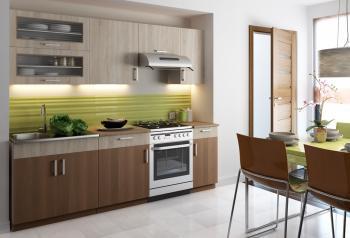 Kuchyně Blanka 240 s výklopem CASARREDO STR-BLA-240-VYKL