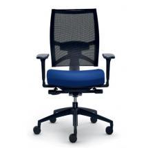 Kancelářská židle STORM, 545-N6-SYS, černý nylonový kříž
