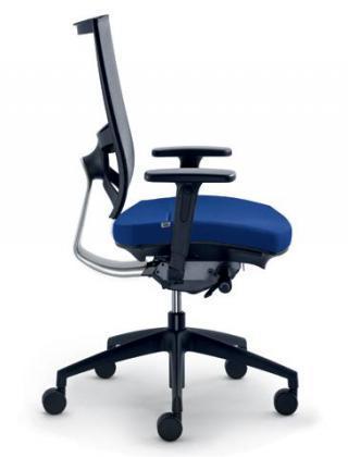 Kancelářská židle STORM, 545-N2-SYS, černý nylonový kříž