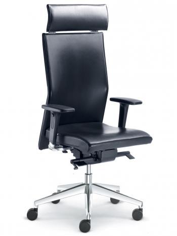 Kancelářská židle WEB Omega, 420-SYS, bez područek LD SEATING 420-SYS P