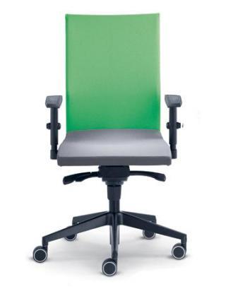 Kancelářská židle WEB, 410-SYS, černý nylonový kříž