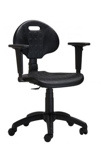 Pracovní dílenská židle 1290 PU MEK Antares