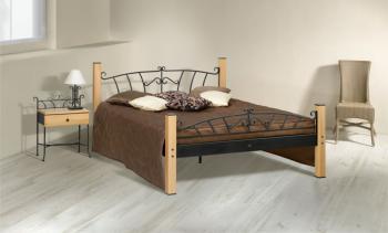 Kovaná postel ALTEA, 200 x 160 cm IRON ART D 0473c