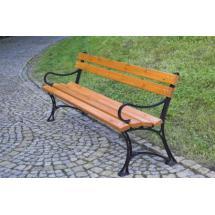 Parková lavice s područkami - FSC