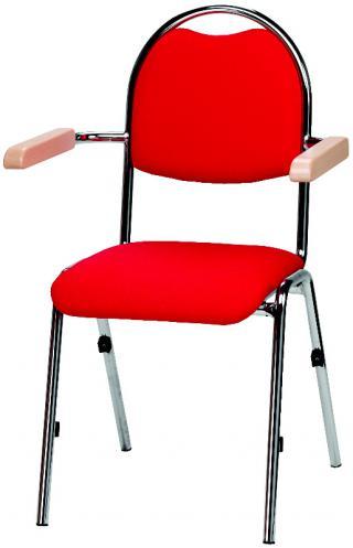 Jednací a konferenční  židle BRENDA + HA - čalouněná