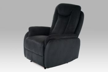 relax. křeslo, látka černá AUTRONIC TV-7039 BK2