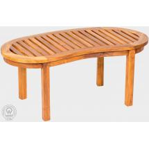 Teakové zahradní stůl FABIO, 95x45cm