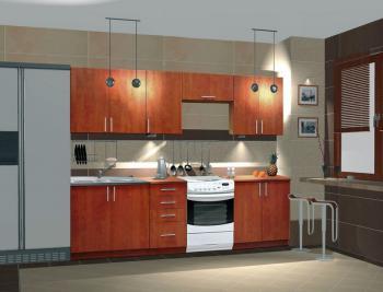 Kuchyně NORA 240 de LUX hruška CASARREDO JAR-NORDL-240-HRU