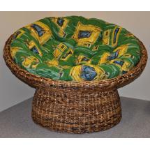 Papasan banánový list - polstr zelený