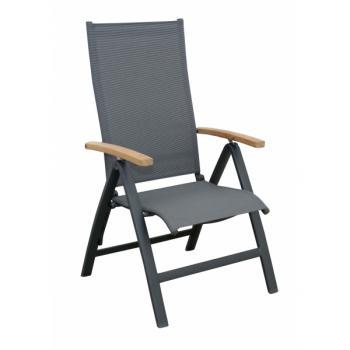 Zahradní židle - křeslo polohovací KATA Doppler 259PA01011