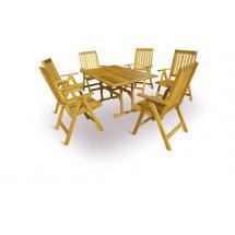 Zahradní nábytek-Sestava QUEEN set 6, 150x90cm