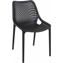 Zahradní židle plastová AIR, černá
