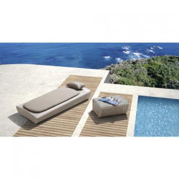 Zahradní nábytek - lehátko + stolek BRONX DIMENZA