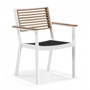 Zahradní jídelní židle YORK, područky DIMENZA