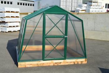 Skleník LANITPLAST DODO 8x5 PC 4 mm zelený, š 235 x d 150 cm LG1107