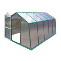 Skleník LANITPLAST DODO 8x12 PC 6 mm zelený, š 235 x d 365 cm
