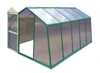 Skleník LANITPLAST DODO 8x10 PC 8 mm zelený, š 235 x d 292 cm LG1117