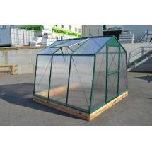 Skleník LANITPLAST DODO 8x7 PC 10 mm zelený, š 235 x d 222 cm