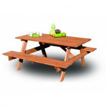 Zahradní nábytek - Set PIKNIK - 160 cm, dřevo borovice