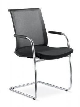 Jednací a konferenční židle WEB, 405-KZM-N4 LD SEATING 405-KZM-N4