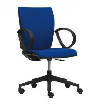 Kancelářská židle LYRA 232-SYS, černý nylonový kříž LD SEATING 232-SYS