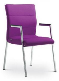 Jedenací židle konferenční LASER, 680-K-N2