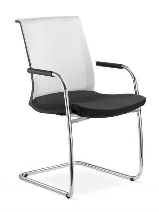 Kancelářská židle jednací a konferenční LYRA NET 203-KZ-N2