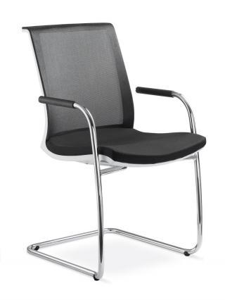 Kancelářská židle jednací a konferenční LYRA NET, 213-KZ-N2