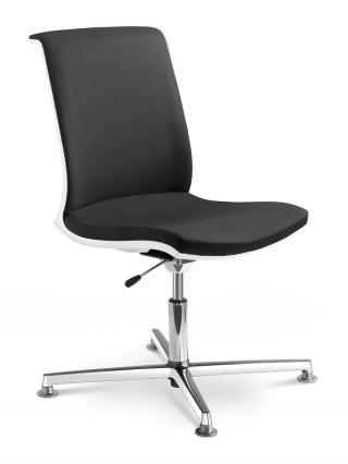 Kancelářská židle jednací a konferenční LYRA NET, 214-F34-N6