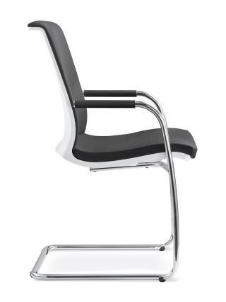 Kancelářská židle jednací a konferenční  LYRA NET, 214-KZ-N2