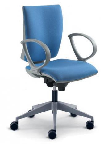Kancelářská židle LYRA 231-SYS, šedý nylonový kříž LD SEATING 231-SYS