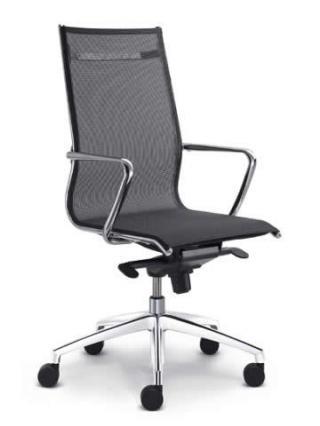 Kancelářská židle PLUTO 601, vysoký opěrák