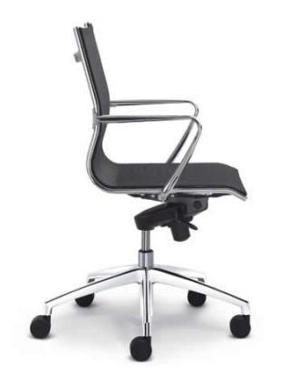 Kancelářská židle PLUTO 610, nízký opěrák