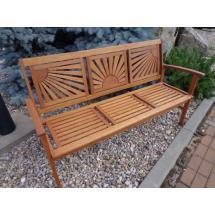Zahradní lavice AD 03076F - dřevěná