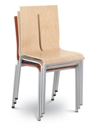 Jednací a konferenční židle TWIST 240-N1, černá konstrukce