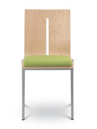 Jednací a konferenční židle TWIST 241-N1, černá konstrukce