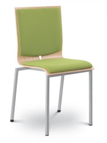 Jednací a konferenční židle TWIST 242-N2 konstrukce efekt hliník LD SEATING 242-N2