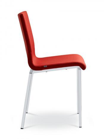 Jednací a konferenční židle TWIST 246-N1, černá konstrukce LD SEATING 246-N1