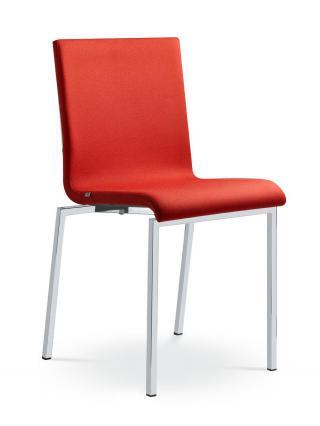 Jednací a konferenční židle TWIST 246-N2, konstrukce efekt hliník