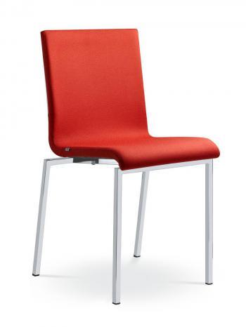 Jednací a konferenční židle TWIST 246-N2, konstrukce efekt hliník LD SEATING 246-N2