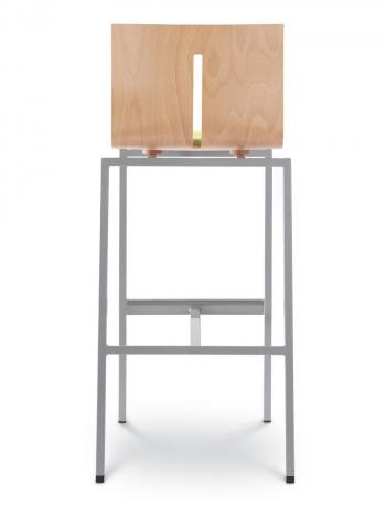 Barová židle TWIST 244-N1, černá konstrukce LD SEATING 244-N1
