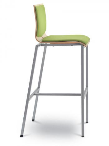 Barová židle TWIST 245-N1, černá konstrukce LD SEATING 245-N1