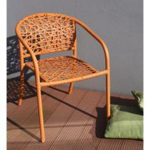 Zahradní židle NEST (oranžová)