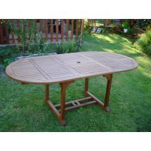 Zahradní stůl QTC 47087, rozkládací