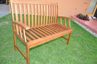 Zahradní lavice AD 23031, dřevěná