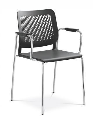 Jednací a konferenční židle TIME 170/B-N4