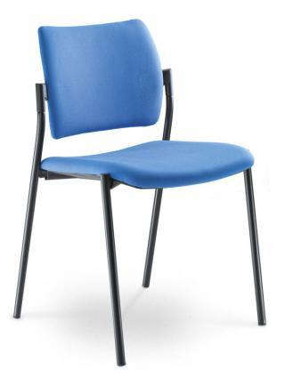 Jednací a konferenční židle DREAM 110-N1, konstrukce černá